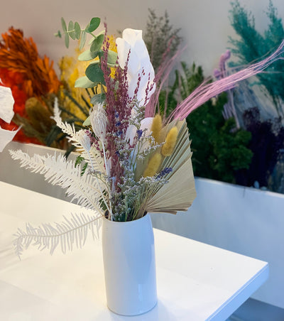 Image of bouquet in white vase