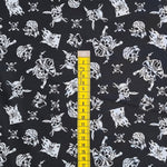 Pirates Black Cotton 10m