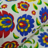 Folklore Heavy Twill Cotton Fabric 10m