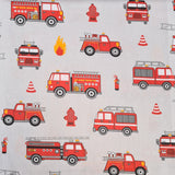 Fire Engine Cotton 10m