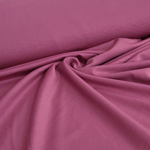 Mauve Plain French Terry 10m