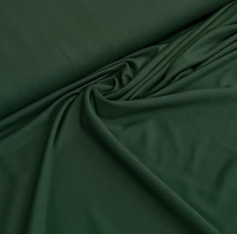 Dark Green Plain French Terry 10m