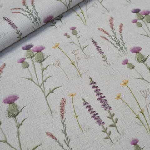 Scottish Meadow Waterproof Fabrics 10m