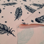 Feathers on pink Jersey 10m
