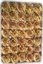 Load image into Gallery viewer, SWAR EL SIT BAKLAVA WITH CHOCOLATE AND PISTACHIO FULL TRAY