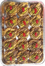 Load image into Gallery viewer, SWAR EL SIT BAKLAVA WITH CHOCOLATE AND PISTACHIO HALF TRAY