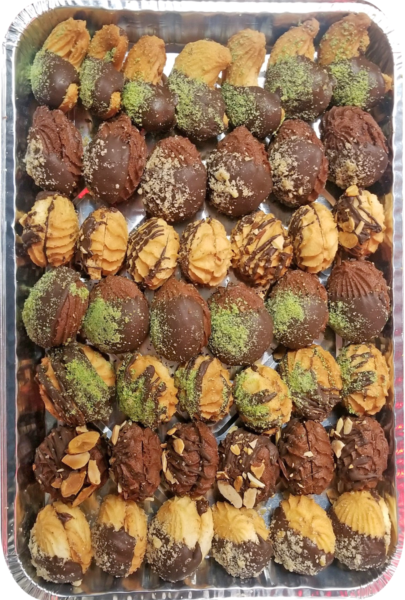 ASSORTED PETIT FOUR TRAY