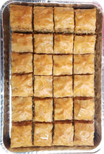 Load image into Gallery viewer, BAKLAVA WALNUTS HALF TRAY