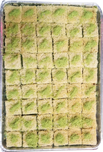 Load image into Gallery viewer, BALLOURIA BAKLAVA PISTACHIO FULL TRAY