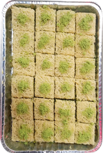 Load image into Gallery viewer, BALLOURIA BAKLAVA PISTACHIO HALF TRAY