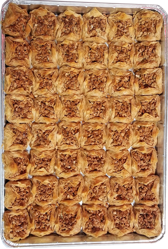 BIRD'S NEST BAKLAVA CASHEW FULL TRAY