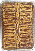 Load image into Gallery viewer, BURMA CHOCOLATE PECAN BAKLAVA HALF TRAY