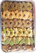 Load image into Gallery viewer, Assorted Sable Cookies Half Tray