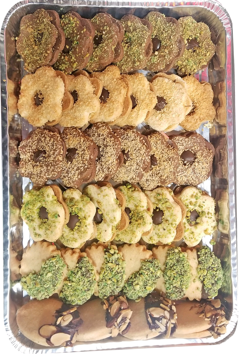 Assorted Sable Cookies Half Tray
