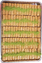 Load image into Gallery viewer, LADY FINGERS CASHEW BAKLAVA FULL TRAY