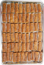 Load image into Gallery viewer, MINI BURMA BAKLAVA PISTACHIO FULL TRAY