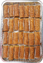 Load image into Gallery viewer, MINI BURMA BAKLAVA PISTACHIO HALF TRAY