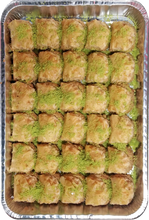 Load image into Gallery viewer, MINI ROSE BAKLAVA CASHEWS HALF TRAY