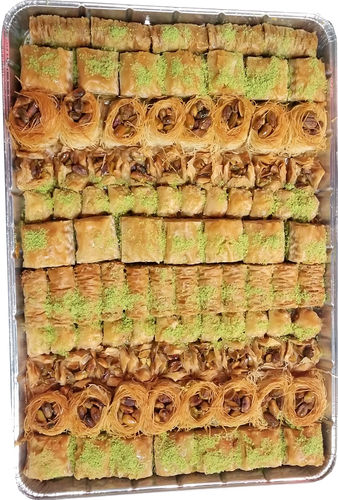 SUGAR FREE ASSORTED BAKLAVA TRAY FULL TRAY