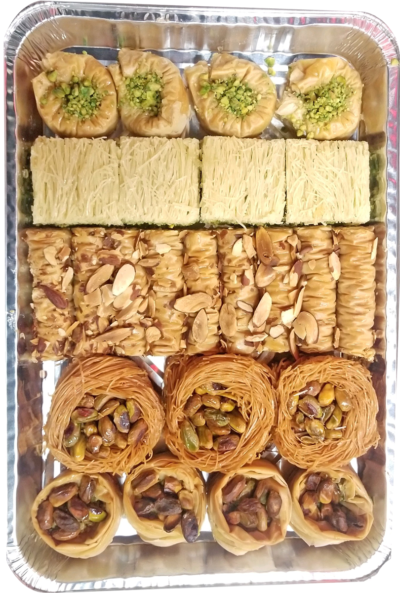 PARIS PASTRY SPECIAL ASSORTED BAKLAVA