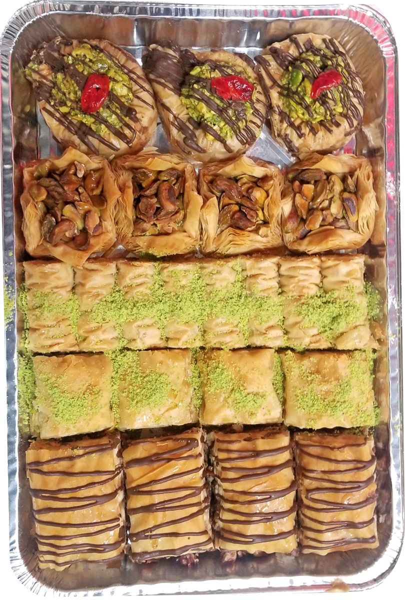 SIGNATURE 3 ASSORTED BAKLAVA TRAY