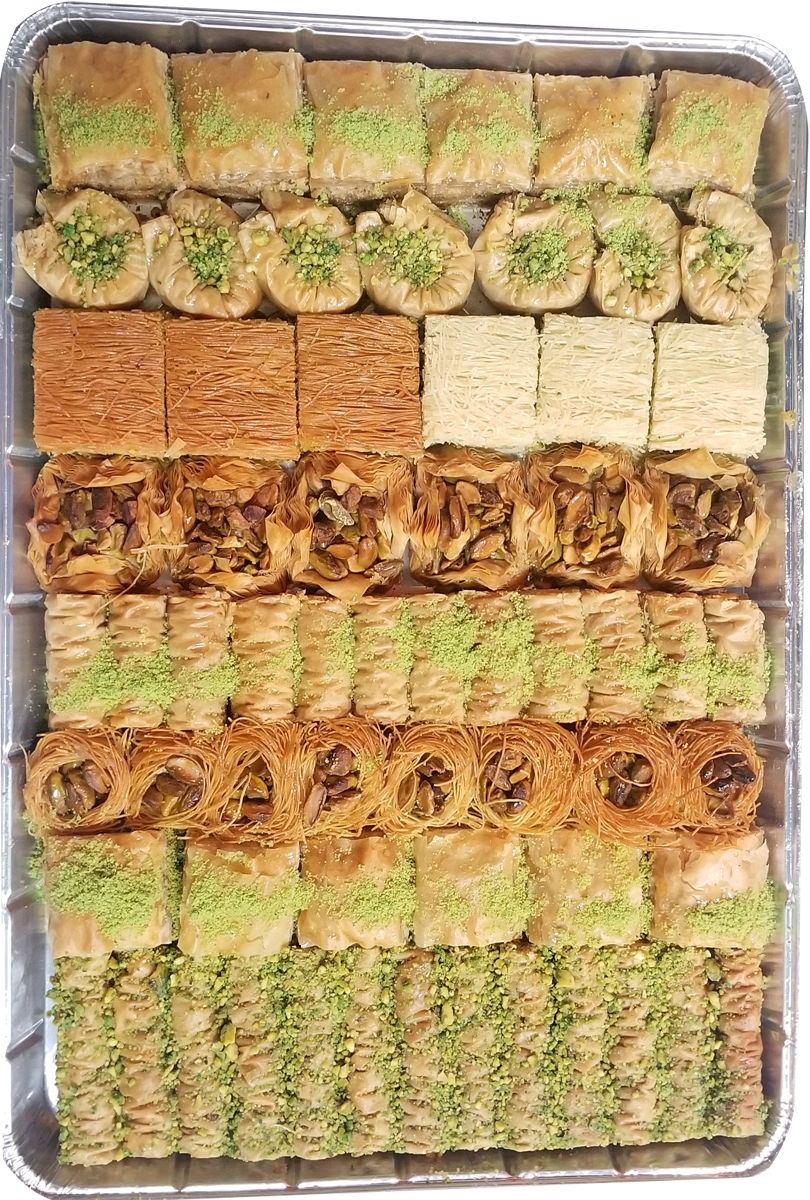 DELUXE 3 ASSORTED BAKLAVA TRAY