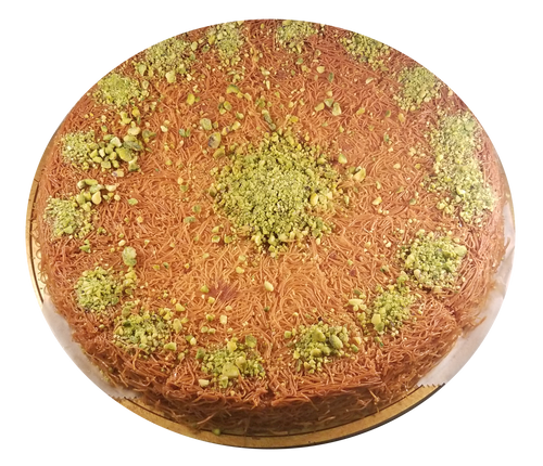 KANAFEH WITH SWEET CREAM Round Tray