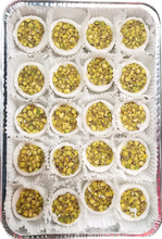 Load image into Gallery viewer, SALLOURIA BAKLAVA PISTACHIO HALF TRAY