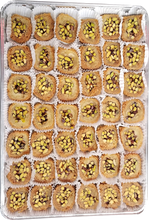Load image into Gallery viewer, SHAARIA BURMA BAKLAVA PISTACHIO FULL TRAY