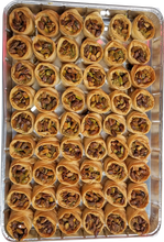 Load image into Gallery viewer, SUSHI BAKLAVA PISTACHIO FULL TRAY
