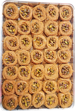 Load image into Gallery viewer, BIG BIRD'S NEST SHAARIA BAKLAVA FULL TRAY