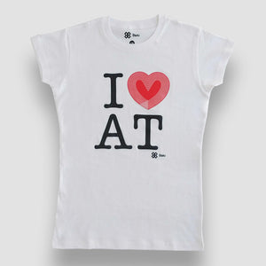 Blusa Dama Atletismo - I Love Athletics - Blanco