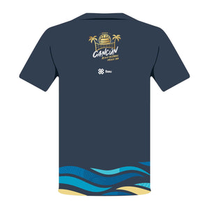 PREMIUM EDITION MEN T-SHIRT  -  CANCÚN BEACH VOLLEYBALL - MEXICO