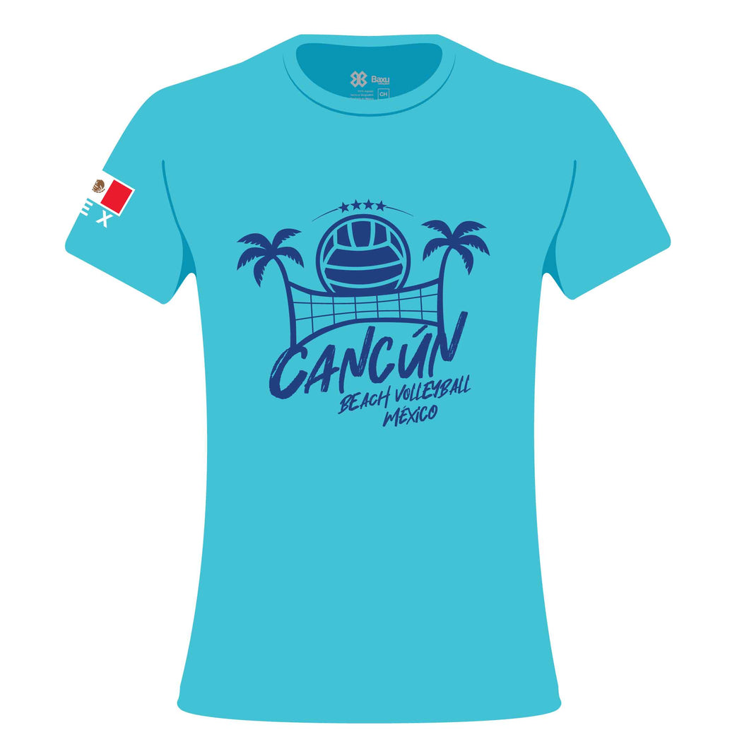 WOMEN TSHIRT - FIVB BEACH VOLLEYBALL WORLD TOUR - CANCÚN