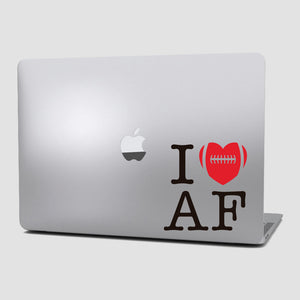 Sticker Fútbol Americano - I Love American Football