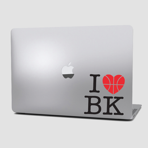 Sticker Basquetbol - I Love Basketball - Grande