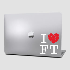 Sticker Futbol - I Love Football - Grande