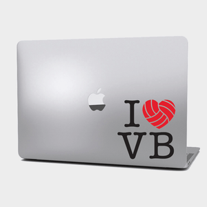 Sticker Voleibol - I love Volleyball - Grande