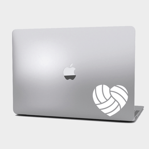 Sticker Voleibol - Corazón Volleyball