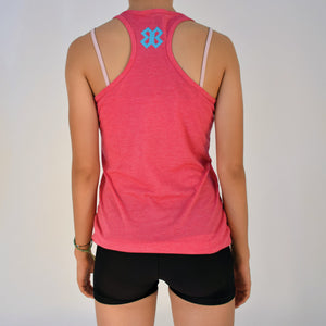 Blusa Tank Voleibol - Keep Calm and Play Volley - Rosa