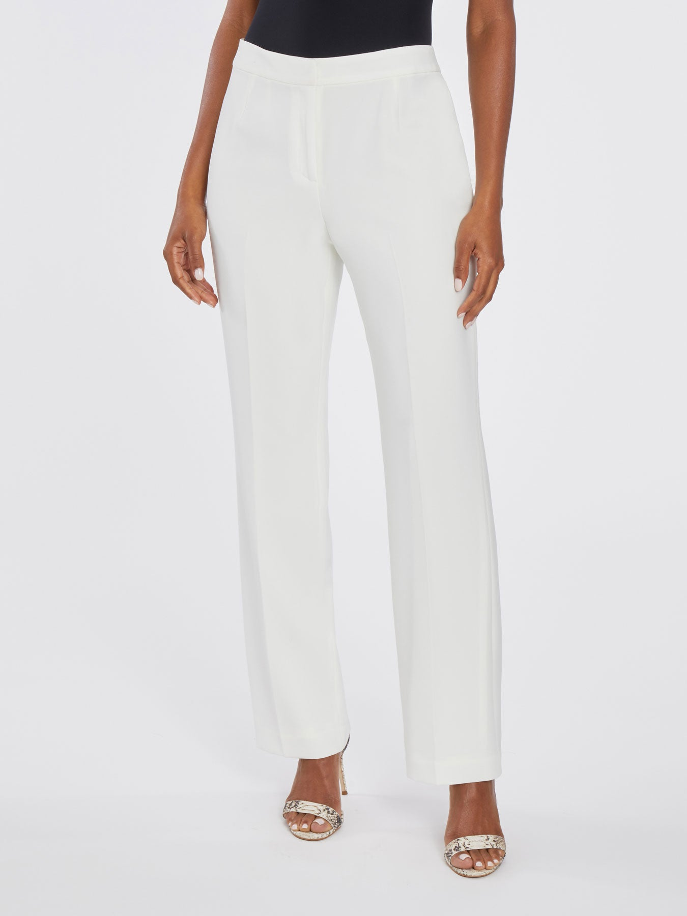 Straight-Leg Trousers – Vanilla Ice – Kasper