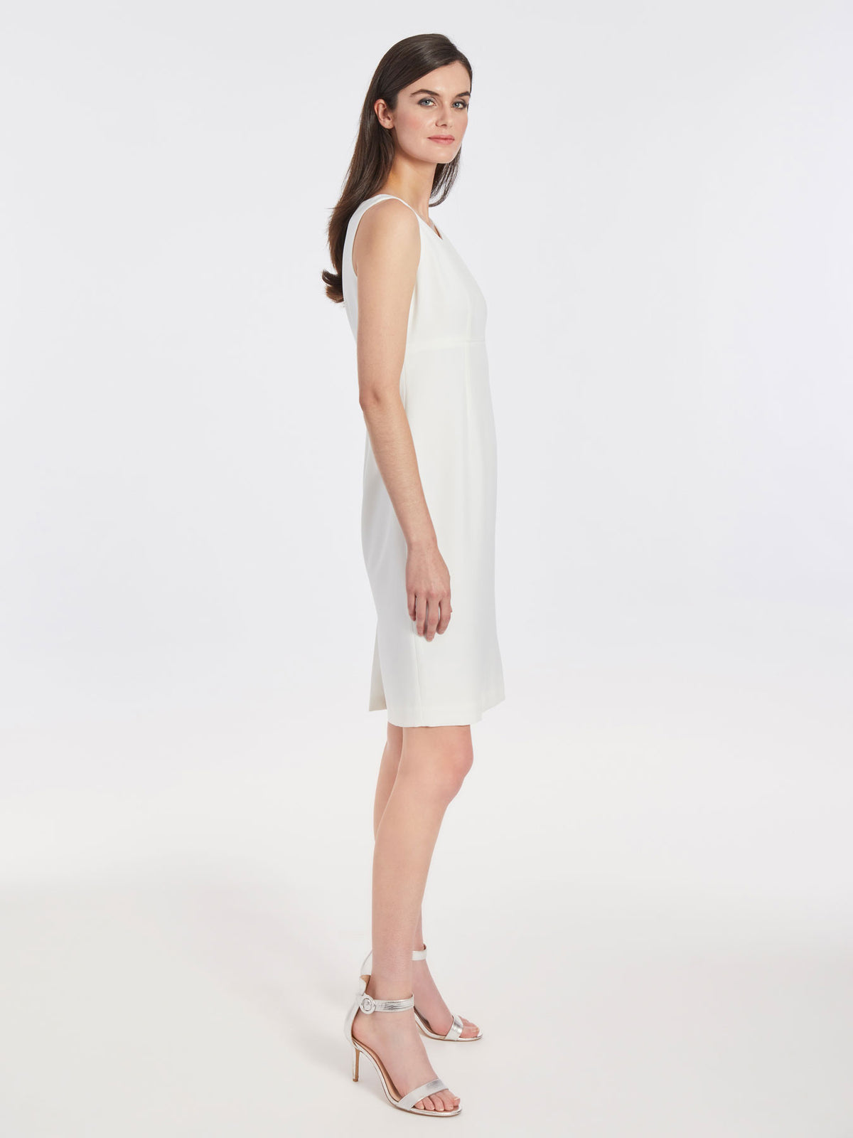 Tailored Sheath Dress – Vanilla Ice – Kasper