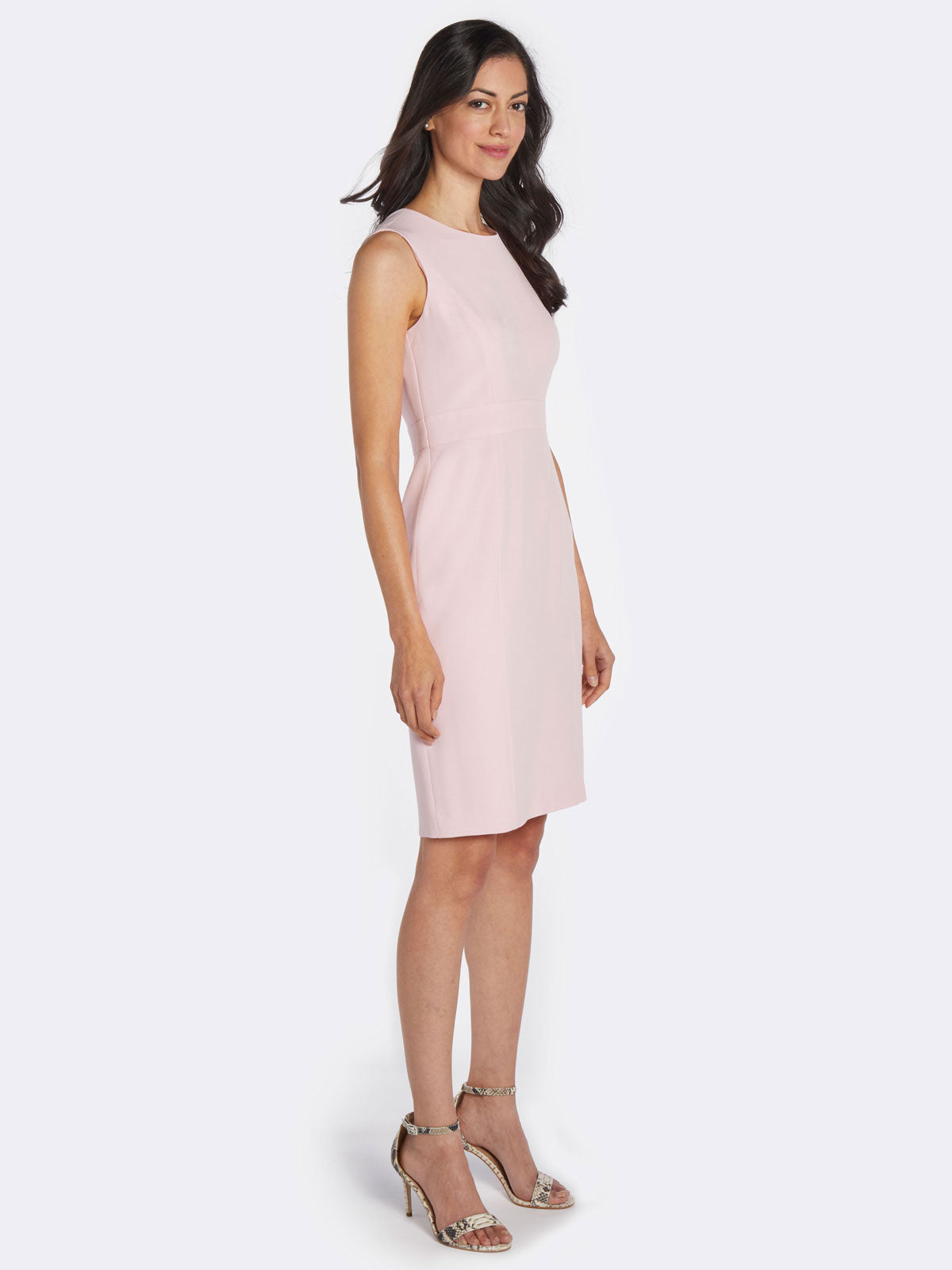 Tailored Sheath Dress – Tutu Pink – Kasper