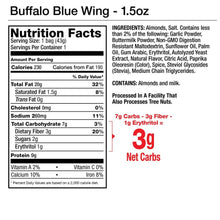 Load image into Gallery viewer, Buffalo Blue Wing Seasoned Almonds 1.5oz Package