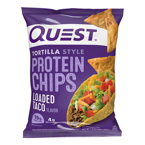 Loaded Taco Quest Tortilla Chips