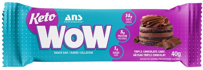 Triple Chocolate Keto Wow Bar
