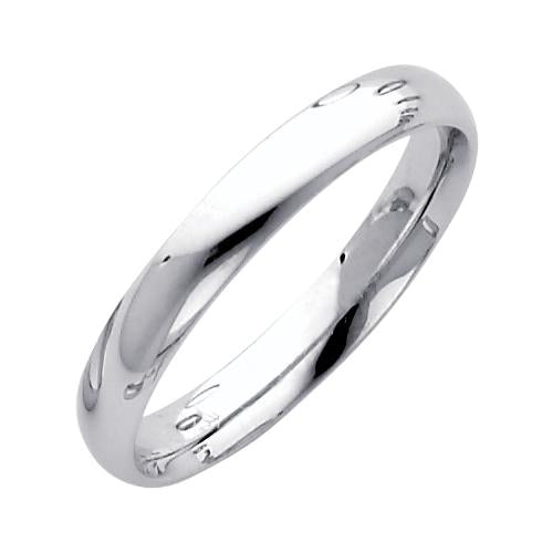 14KW 3MM COMFORT FIT WEDDING BAND