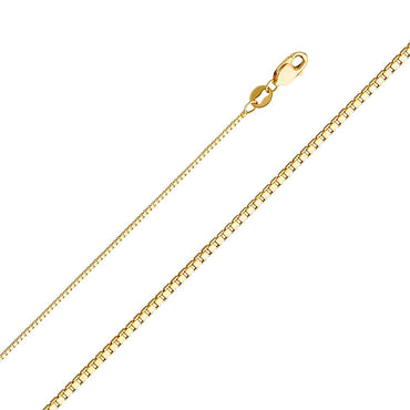 14KY 0.8MM BOX CHAIN  CH-0256 CHAIN NECKLACE