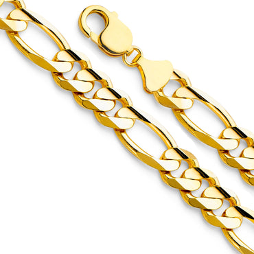 14KY Figaro 3+1 280 Con CH-0286-085 CHAIN NECKLACE