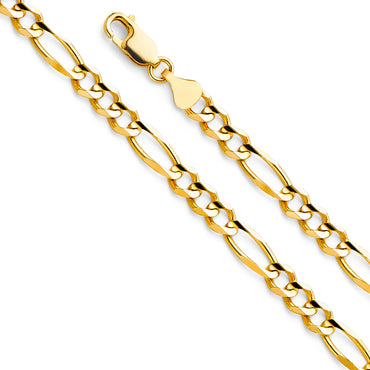 14KY Figaro 3+1 150  CH-0290 CHAIN NECKLACE